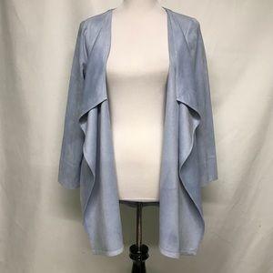 Gretchen Scott soft faux suede jacket